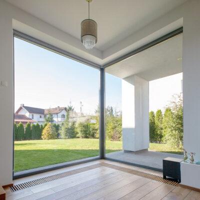 Rahmenlose Fenster