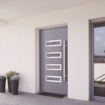 Kunststoff-Alu-Eingangstüren