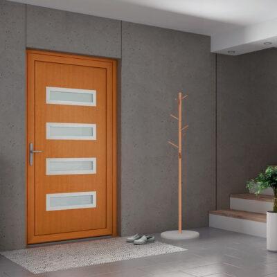Kunststoff-Eingangstüren